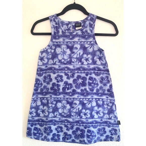 Patagonia Other - Patagonia girl's floral dress size 10 / medium